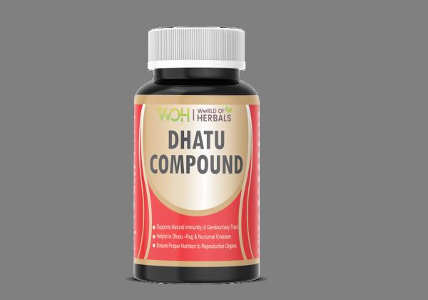 Dhatu Compound Ayurvedic Medicine for Dhant, Dhatu Rog & Night Fall